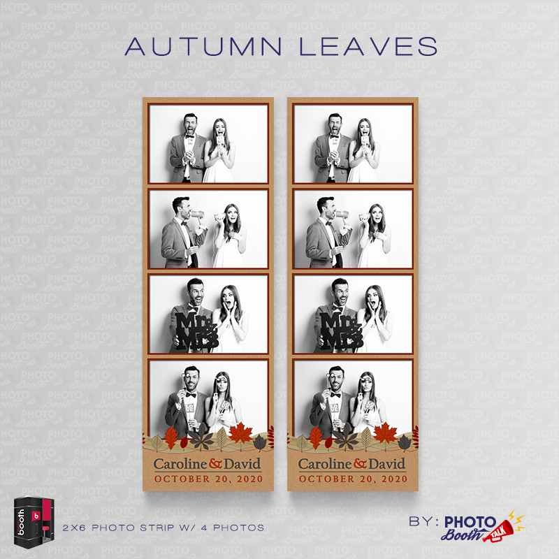 Autumn Leaves 2x6 4Images - CI Creative