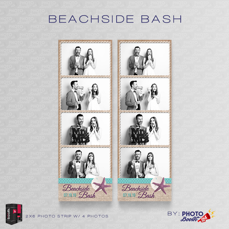 Beachside Bash 2x6 4Images - CI Creative