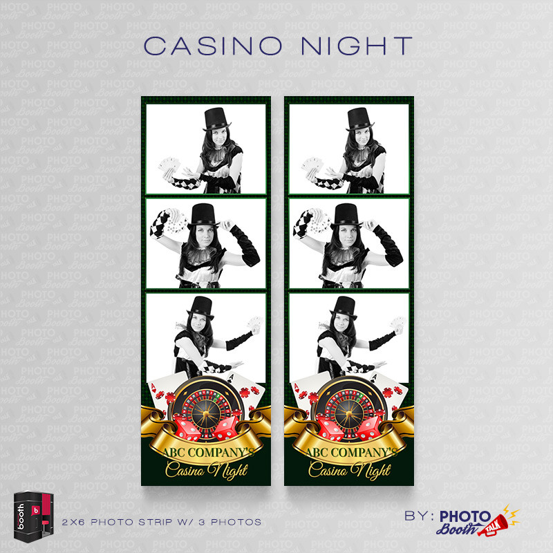 Casino Night 2x6 3Images - CI Creative