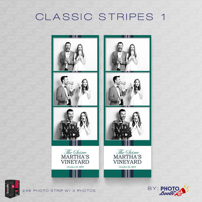 Classic Stripes 1 2x6 3Images - CI Creative