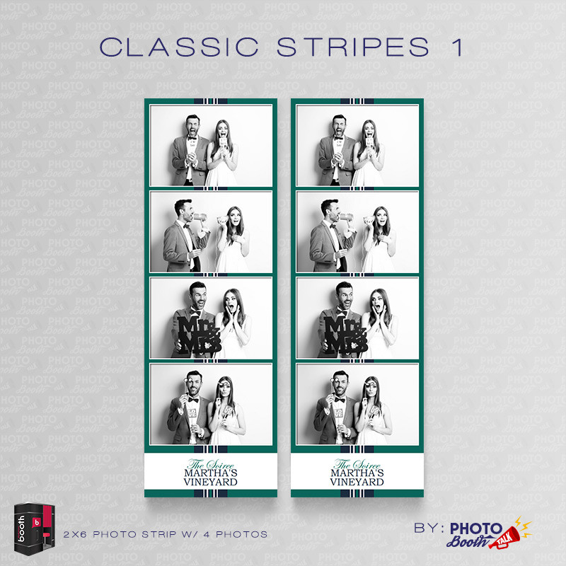 Classic Stripes 1 2x6 4Images - CI Creative