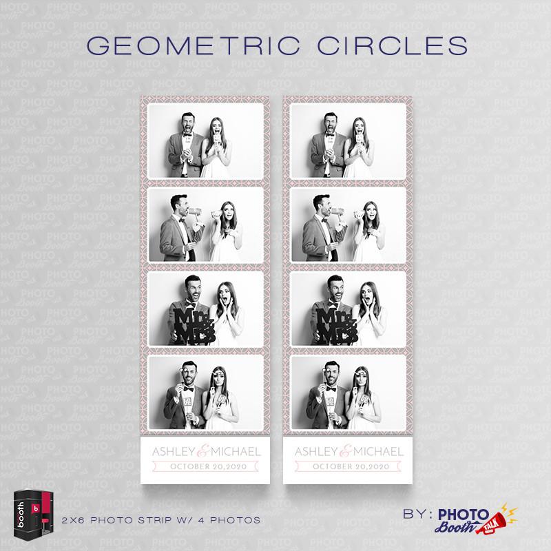 Geometric Circles 2x6 4Images - CI Creative