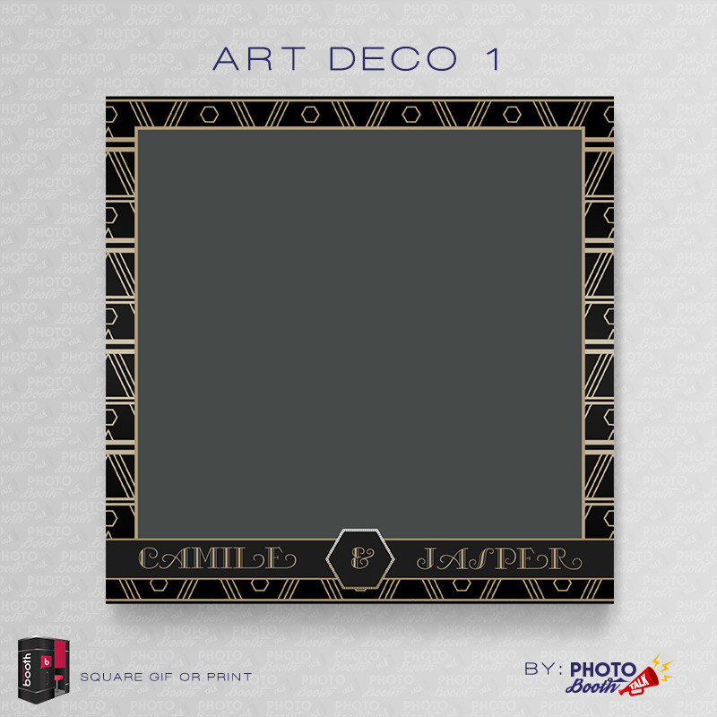 Art Deco 1 5x5 - CI Creative