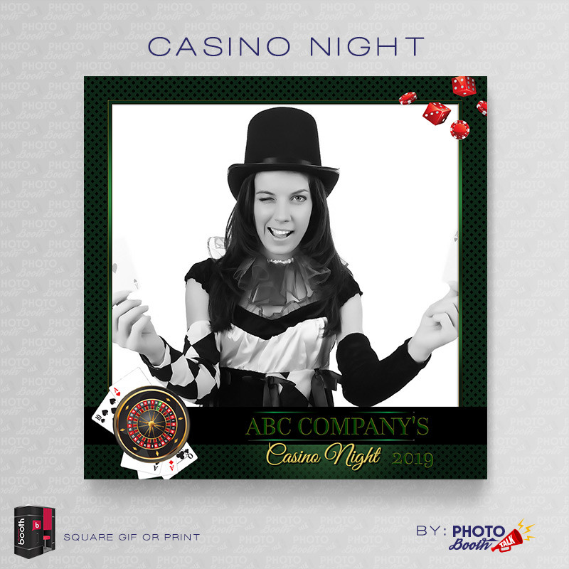 Casino Night 5x5 - CI Creative