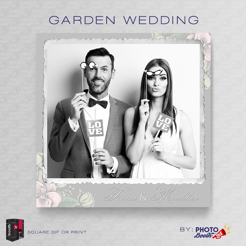 Garden Wedding 5x5 - CI Creative