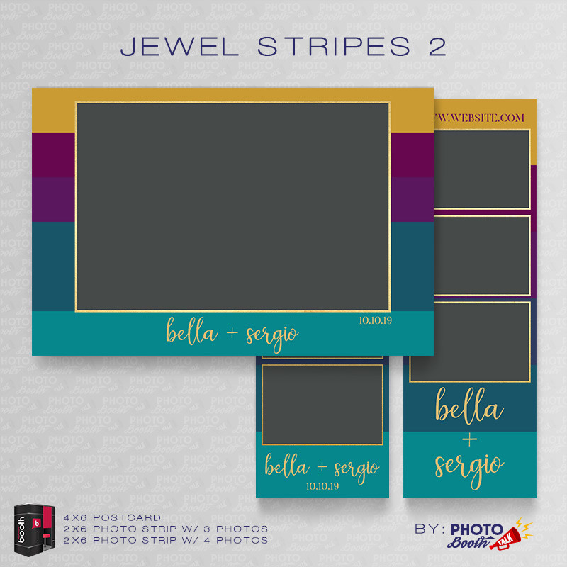 Jewel Stripes 2 Bundle - CI Creative