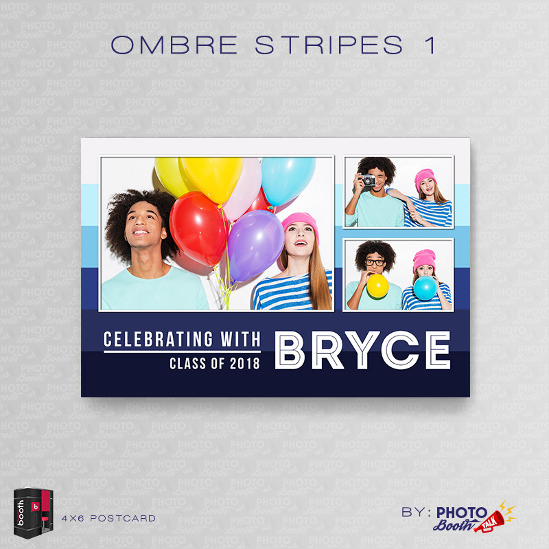 Ombre Stripes 1 4x6 - CI Creative