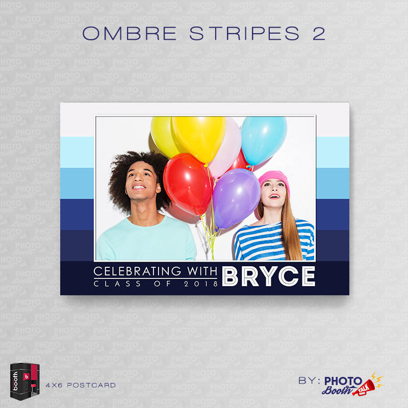 Ombre Stripes 2 4x6 - CI Creative