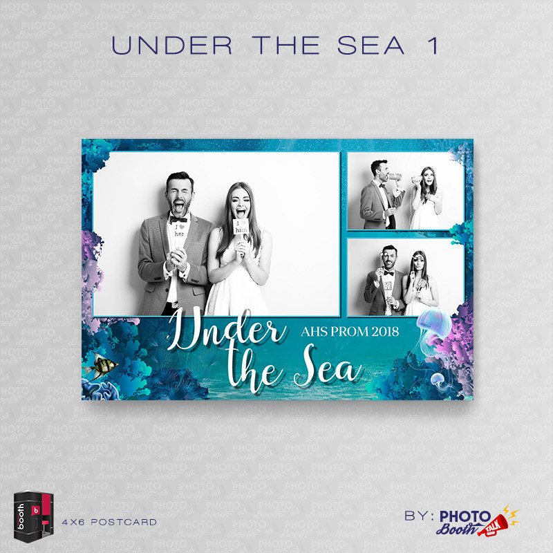 Under the Sea 1 4x6 3 Images - CI Creative