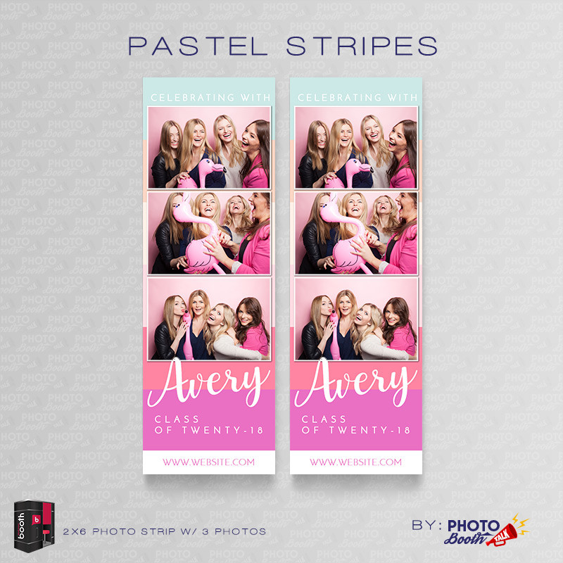 Pastel Stripes 2x6 3 Images - CI Creative