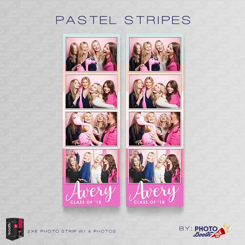 Pastel Stripes 2x6 4 Images - CI Creative