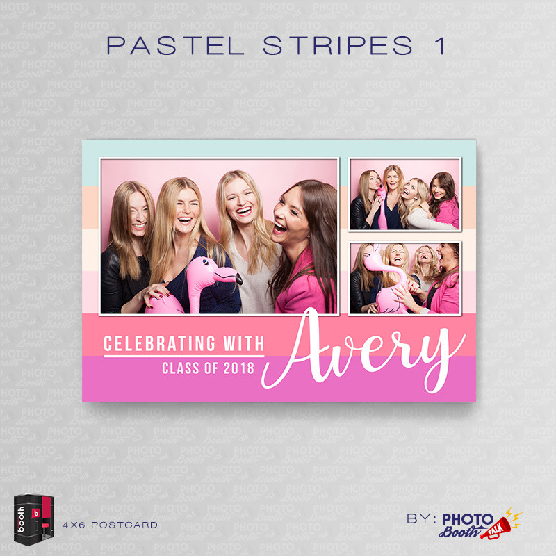 Pastel Stripes 1 4x6 - CI Creative