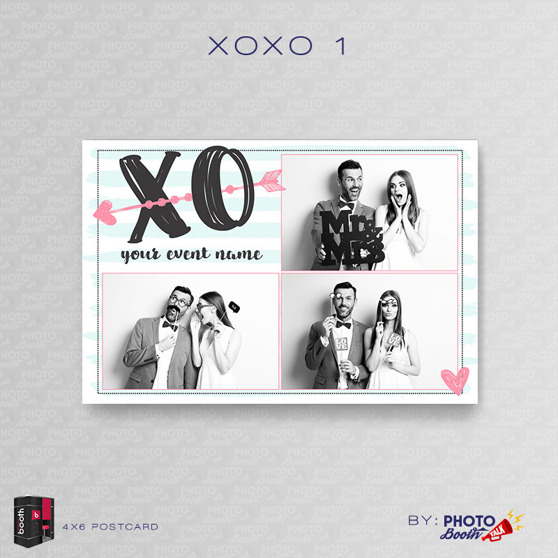 XOXO 1 4x6 3 Images - CI Creative
