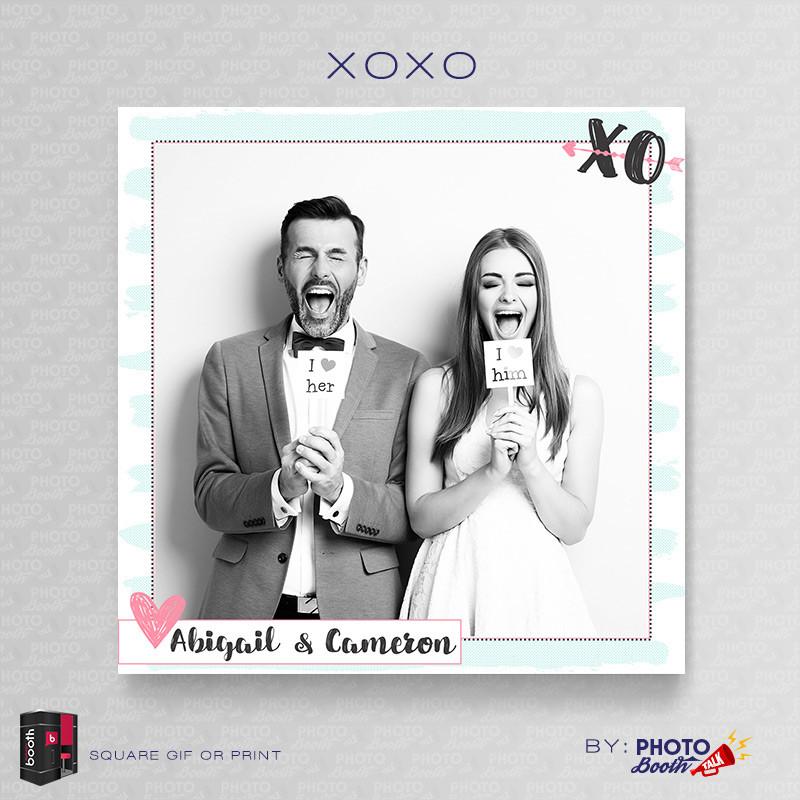 XOXO 5x5 Square - CI Creative