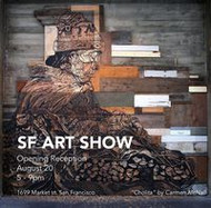 SF ART SHOW,  on thru 9/17
