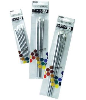 Liquitex BASICS Brush Packs