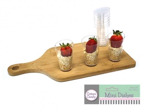 Mini Cone Clear Dish