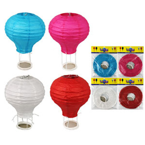 ASSORTED 40CM HOT AIR BALLOON LANTERN