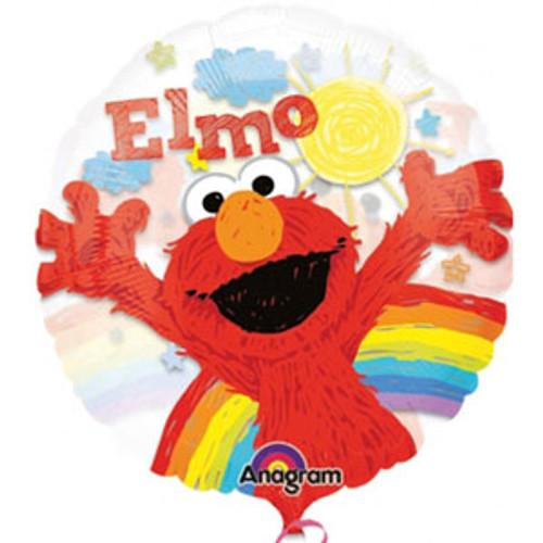 66cm Elmo See-Thru Balloon