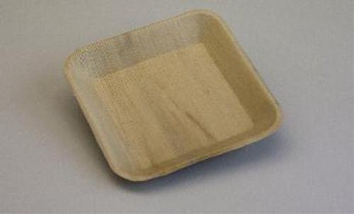 Eco-Friendly 190mm Square  plates Pk 10