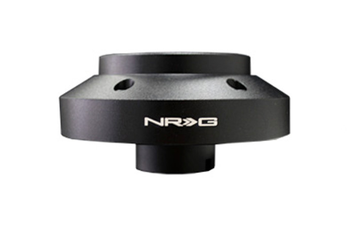 NRG Short Hub Steering Wheel Adapter Mitsubishi 03-07 Evolution side view