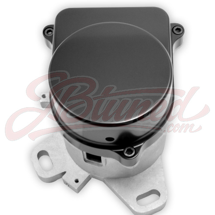 Anodized Black Polished Aluminum Honda Distributor Cap Block Off for Coil On Plug Conversion