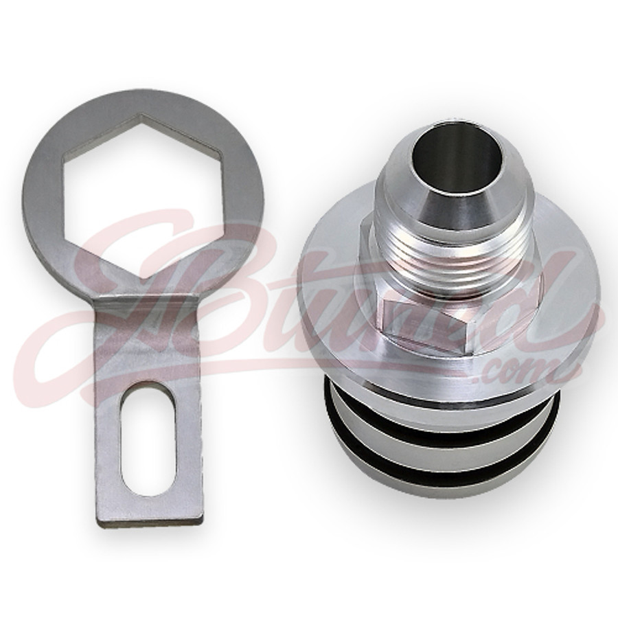 JBtuned Honda B-series Block Plug to 10AN fitting