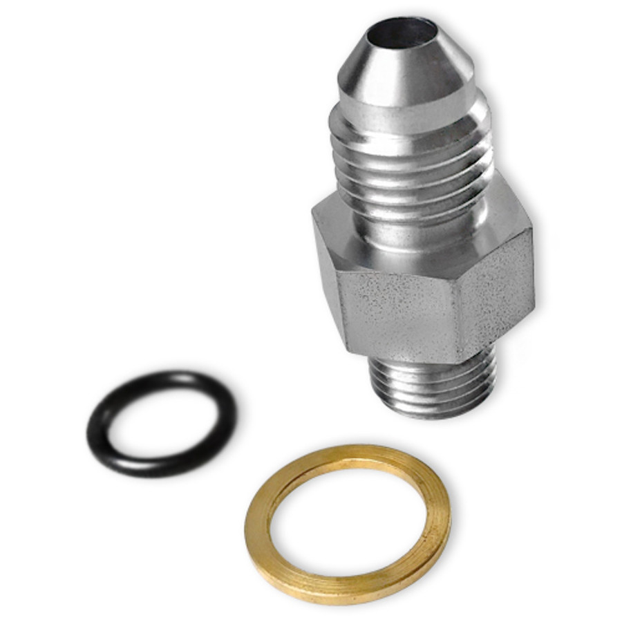Tial Wastegate & Blow Off Valve Adapter Fitting - 4AN