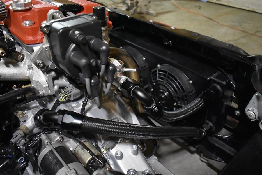 JBtuned Raditor Tuck Kit B-Series