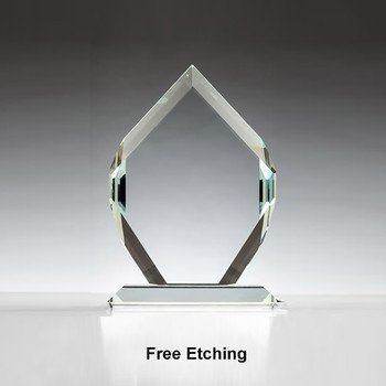 "3/4"" Thick Crown Jewel Award"