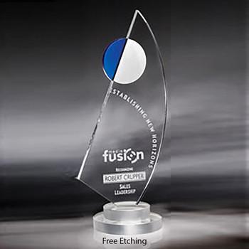 Optic Crystal La Mariner Award