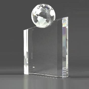 World Globe Crystal  Award