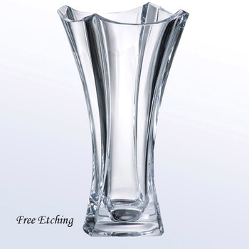 Colosseum Vase European Crystal