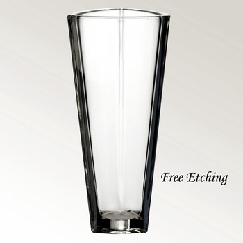Triangle Crystal Vase