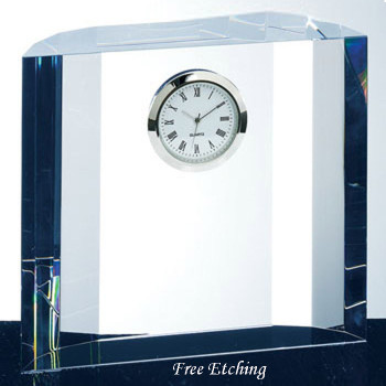 Fantasy Crystal Desk Clock