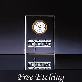 Jade Vertical Essex Clock