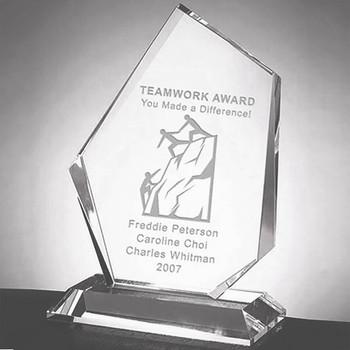 Prestige Summit Crystal Award
