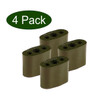 Peacock Garden Plant Couplers 4-pack