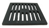 "10"" Cast Iron Bar Strainer - Square"