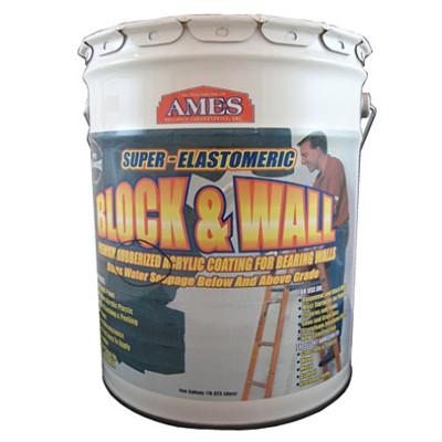 Ames Block & Wall Acrylic Coating 5-Gallon