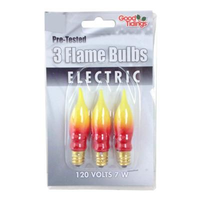 Orange Flame bulbs