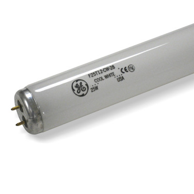 """28"""" GE Fluorescent Appliance Cool White Bulb F25T12/CW/28"""
