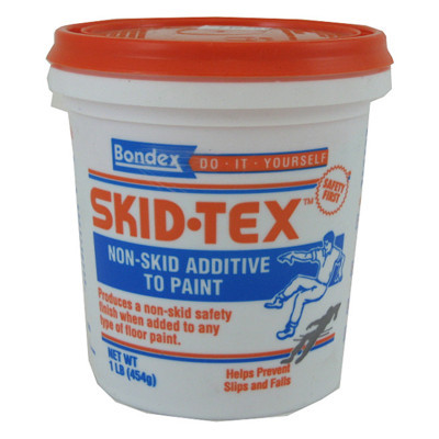 Skid Tex Non-Skid Additive to Paint