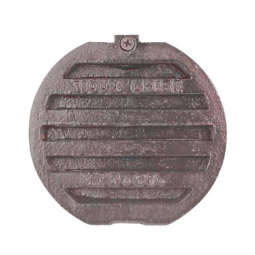 """Cast Iron Fresh Air Vent Cap - 6"""" Diameter"""