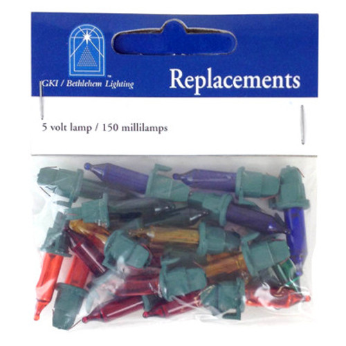 5 Volt Jumbo Multi Replacement Bulbs GKI Bethlehem