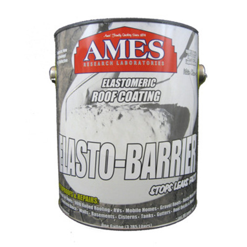 Ames Elasto-Barrier Elastic Roof Coating One Gallon