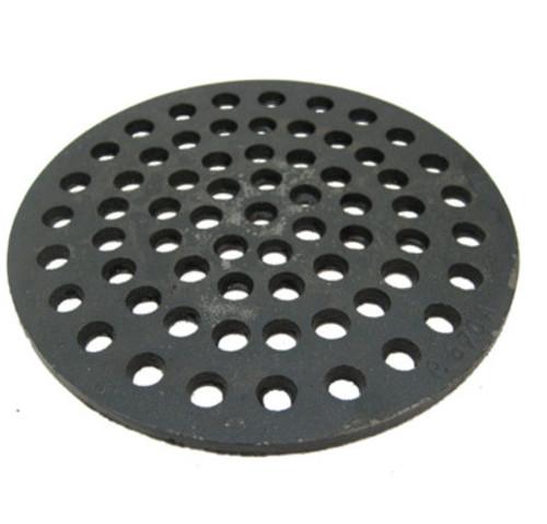 """7 3/4"""" Cast Iron Grate Floor Drain Cover"""