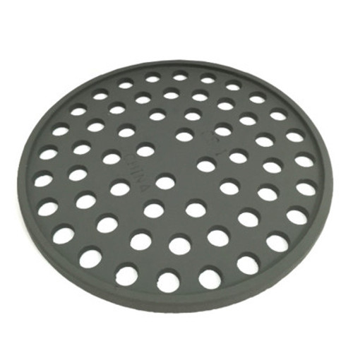 "8 5/8"" Cast Iron Grate Floor Drain Cover - Gray"