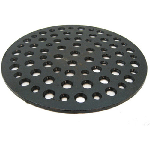 "9 7/8"" Cast Iron Grate Floor Drain Cover"