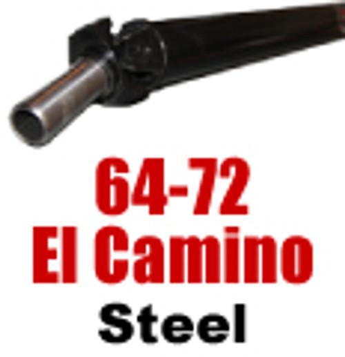 64-72 El Camino Steel Driveshaft